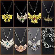 Game LOL Necklace League 7 Rank Pendant Fashion Legends hero Necklaces boy Gift Jewelry Accessories