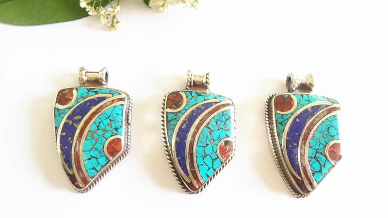 nepal hand metal pendants 158 (8)