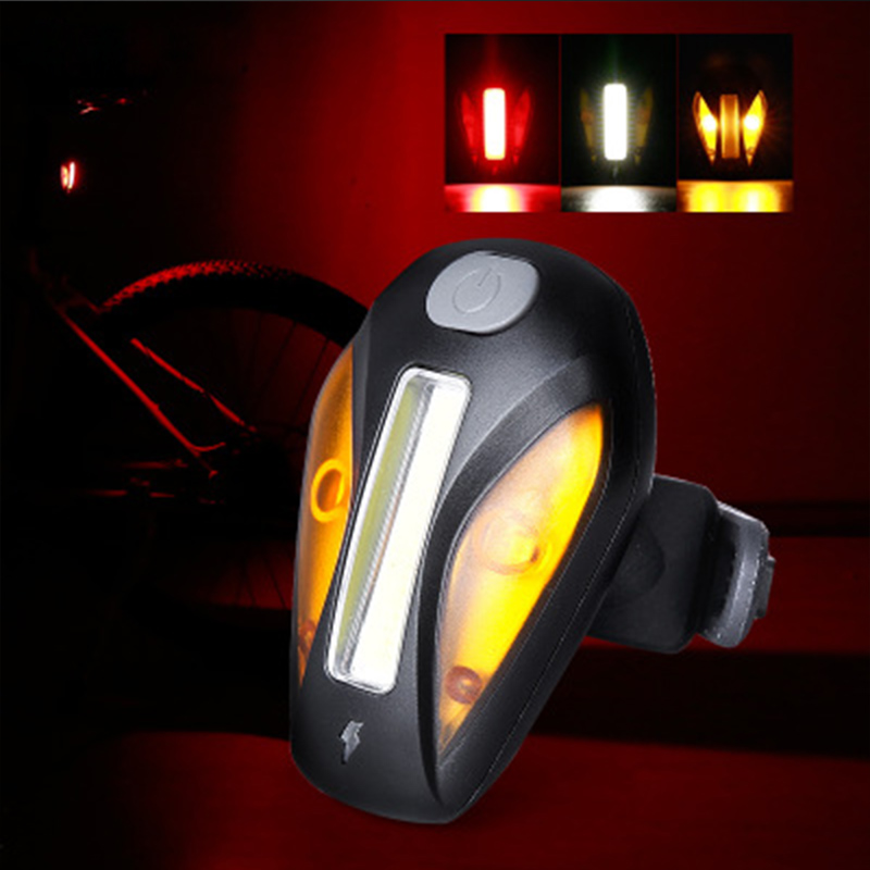 Mtb tail light Bike Lamp warning bike USB Rechargeable seatpost bicycle accessories  rechargeable