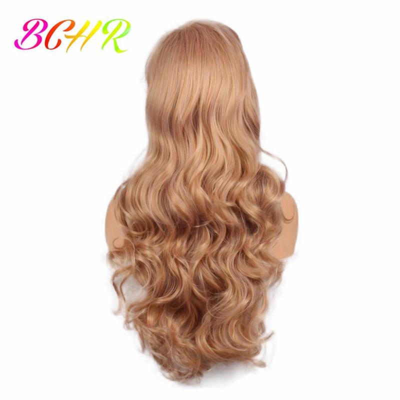 BCHR långblond vågig syntetisk peruk för kvinnor med stora byte - Syntetiskt hår - Foto 4