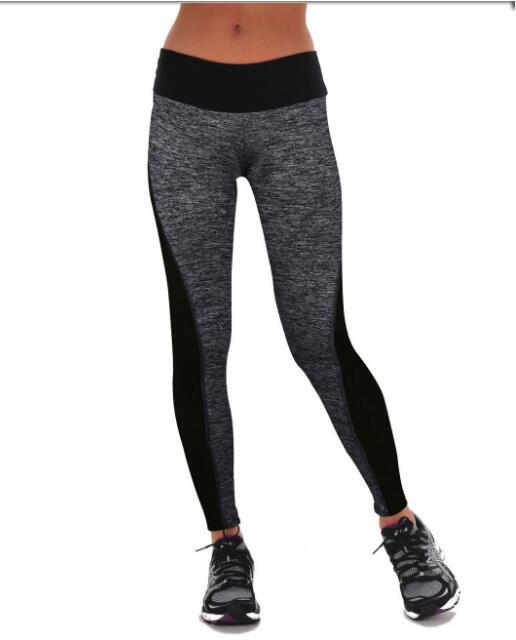 Лоскутная Одежда для фитнеса, женские леггинсы с высокой талией, штаны для тренировок, дышащие леггинсы для фитнеса - Цвет: Style 1