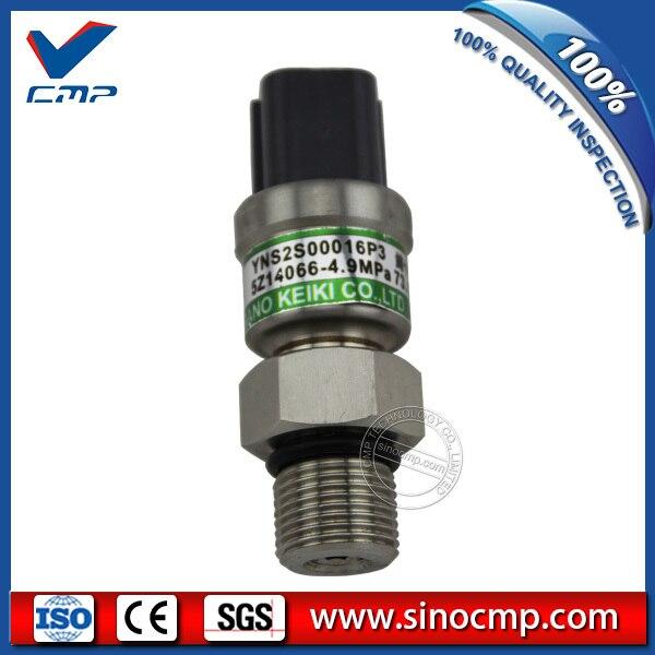 LC52S00016P2 LC52S00016P3 4.9 Mpa Negative Pressure Sensor for Kobelco SK200-6  Excavator