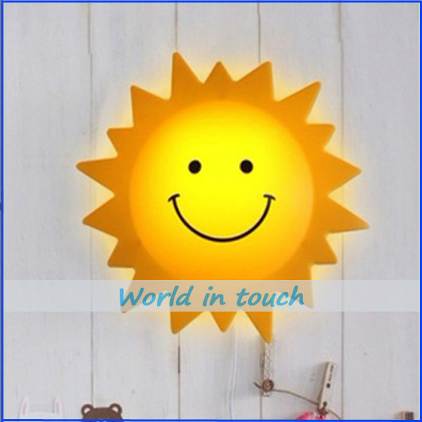 Verbazingwekkend LAMPDA Kids Wall Lamp for Children bedroom decoration lamp Sun QG-89