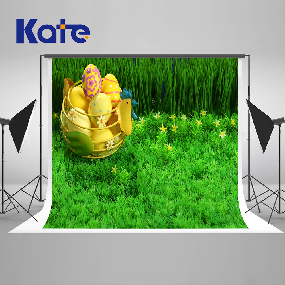 5X7ft Kate New Easter Green Screen Photography Backdrops ...