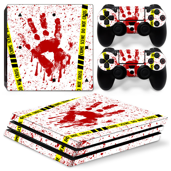 free drop shipping High Quality Game Vinyl Skin Stciker For PS4 Pro Made in China#TN-P4Pro-0886