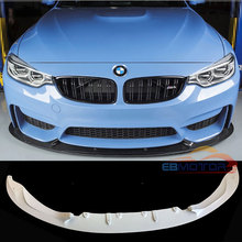 Неокрашенный 3D Стиль передний спойлер для BMW F80 M3 F82 F83 M4 2014UP B379F