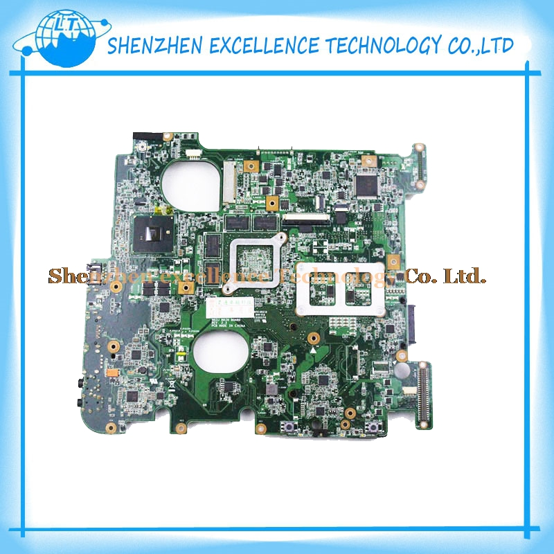 Laptop Motherboard For ASUS N43JQ N43JF I7 CPU Non-integrated fully tested perfect 865 motherboard disassemble 775 needle motherboard ddr1 fully integrated cpu small second hand 100% tested perfect quality