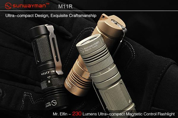 Free Shipping wholesale M11r u2 magneticcontrol xml led mini flashlight small three-color strong light flashlight sitemap 11 xml