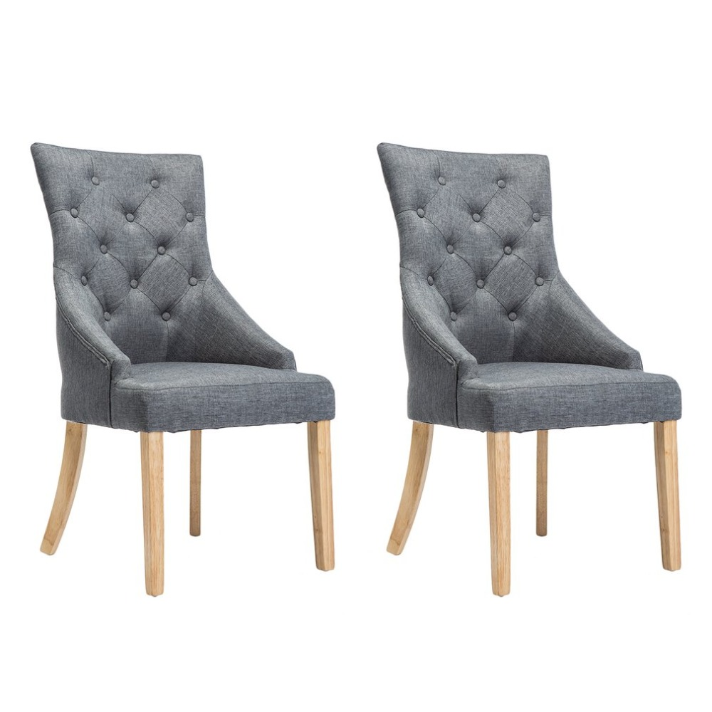 Modern Fashion Dining Chairs High Back Springed Seat Kitchen Room Breakfast  Home Ergonomic Decorative Furniture