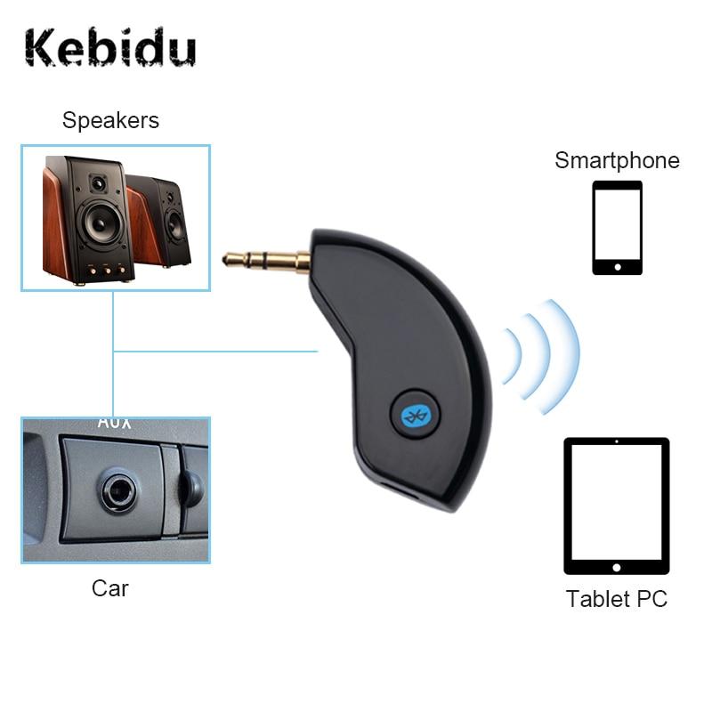 Tragbares Audio & Video Kebidu Bluetooth Audio Receiver Adapter Aux 3,5mm Jack Auto Wireless Music Adapter Car Kit Mini Tragbare Großhandel