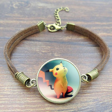 Pikachu Charm Bracelet for Women