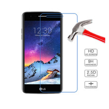 2PCS For Glass LG K8 2017 Screen Protector Tempered Glass For LG K8 2017 Glass Protective For LG LV3 M200N X240 US215 Flim
