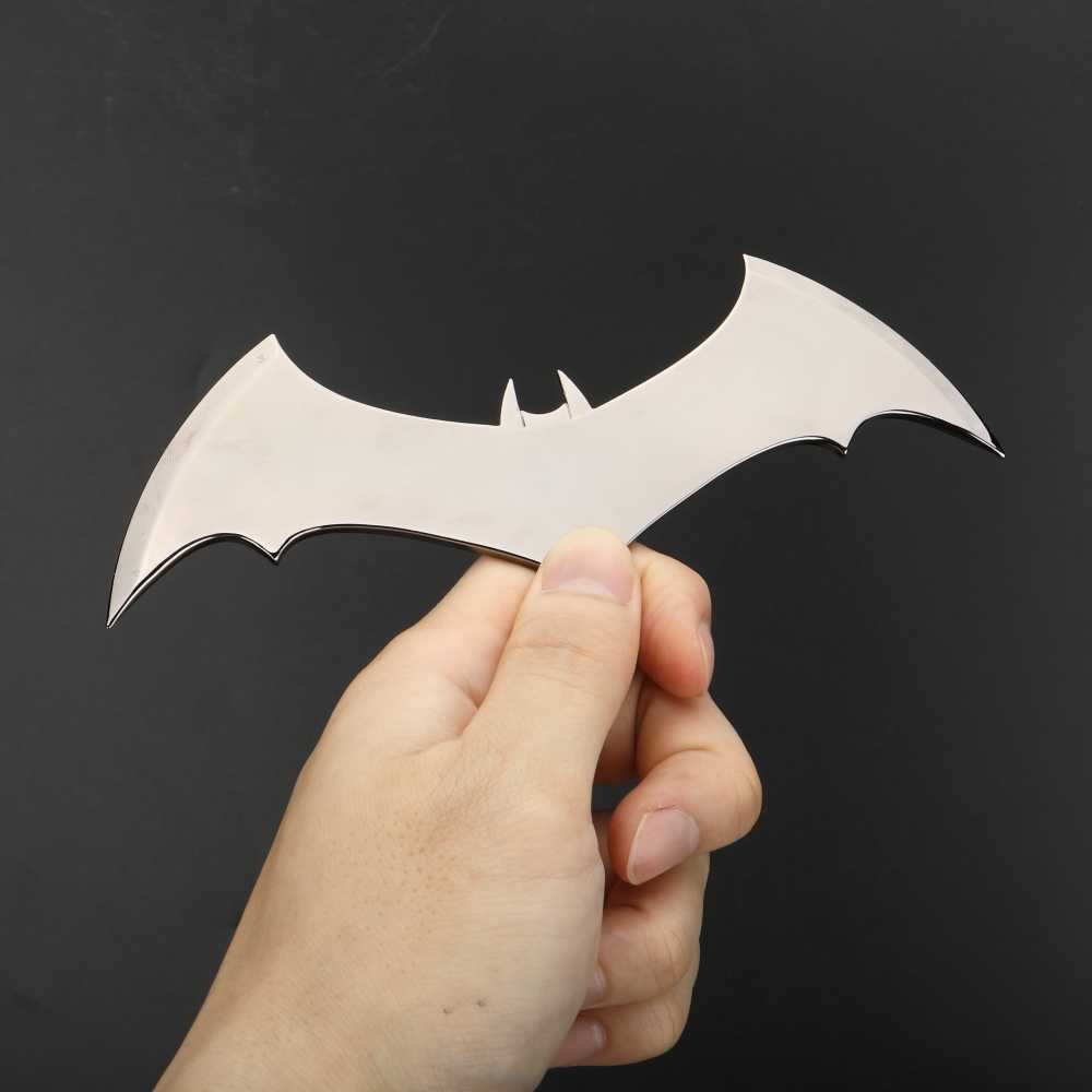 Shazam Batarangs Batman DART โลหะ Batgirl DART Superhero อาวุธ COSPLAY Props