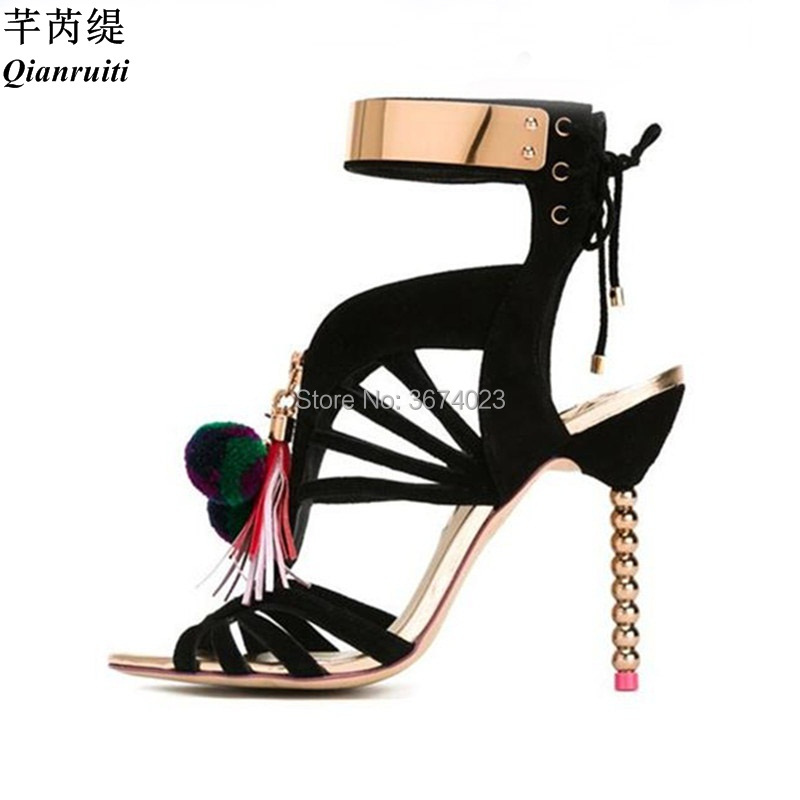 61fc40b917e488 Buy heels with pom poms and get free shipping on AliExpress.com