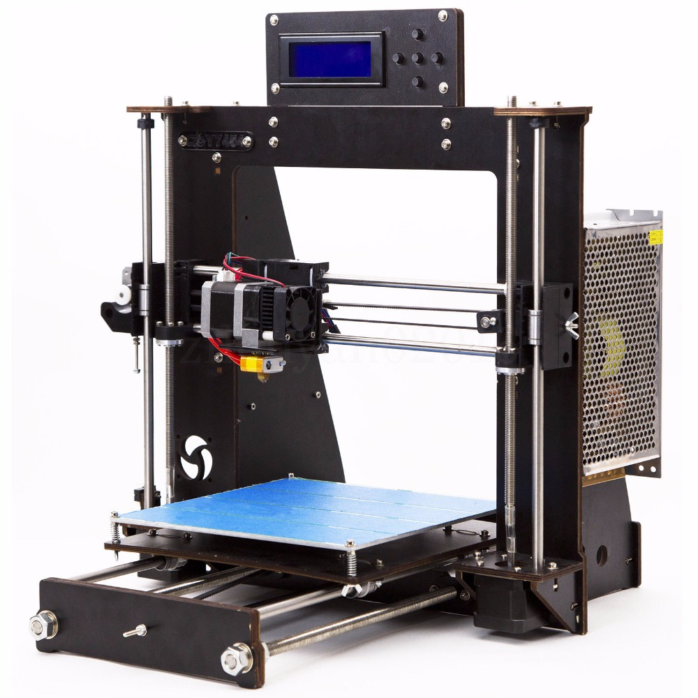CTC Latest Version I3 High Precision 3D Printer DIY Free 1.75mm PLA/ABS