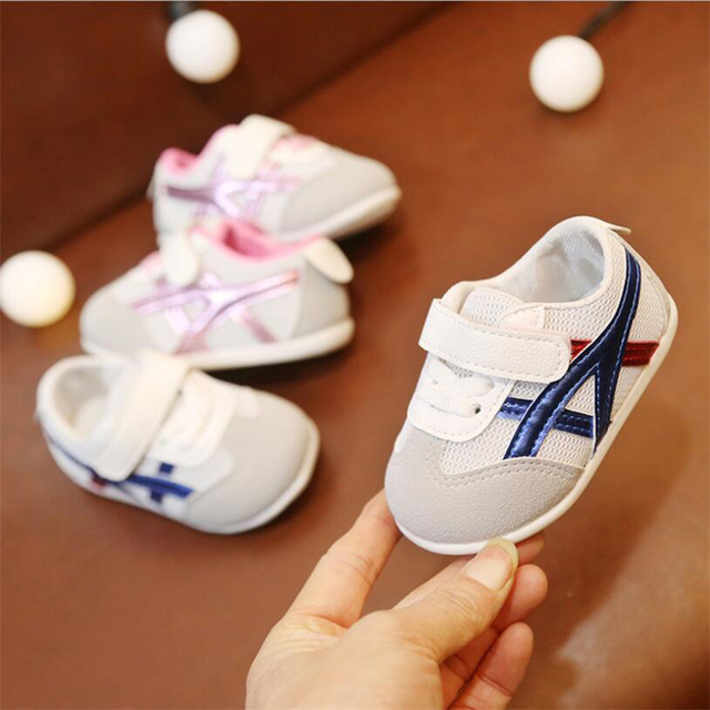 Newborn Baby Casual Shoes For Kids Breathable Mesh Shoes Toddler Tennis Shoes Anti-slippery Newborn Boys Girls Shoes tenis bebe