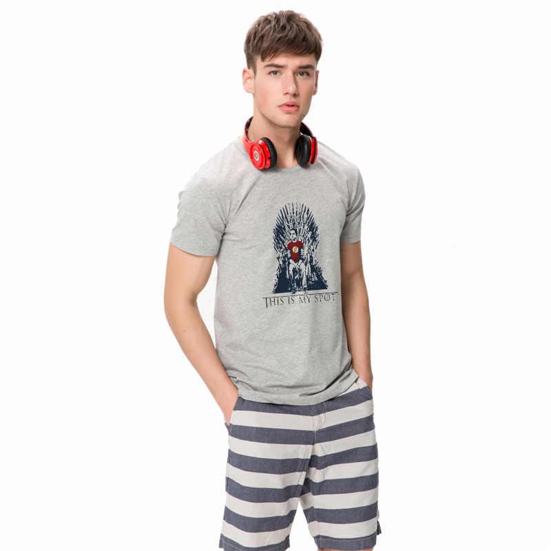HanHent футболка с теорией большого взрыва это моя точка Игры престолов мужские Рубашки повседневные футболки мужская одежда забавная рубашка