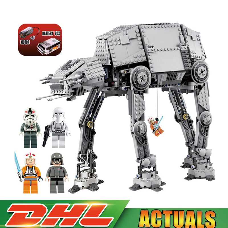 2018 Classic 05050 Star 1137pcs Series Wars AT-AT The Robot Electric Remote Control Building Blocks LegoINGlys Toys 75054 Gift