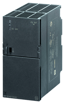 6ES7307-1EA01-0AA0 SIMATIC S7-300 STABILIZED POWER SUPPLY PS307 INPUT: 120/230 V AC OUTPUT: DC 24 V DC/5 A