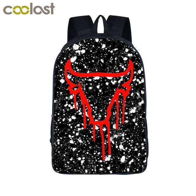 Cool Bull Splatter Backpack For Age Boys Book Bag Crown 23 Children School Bags Men Women