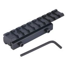 Riser dovetail weaver picatinny rail converter scope price base best mount