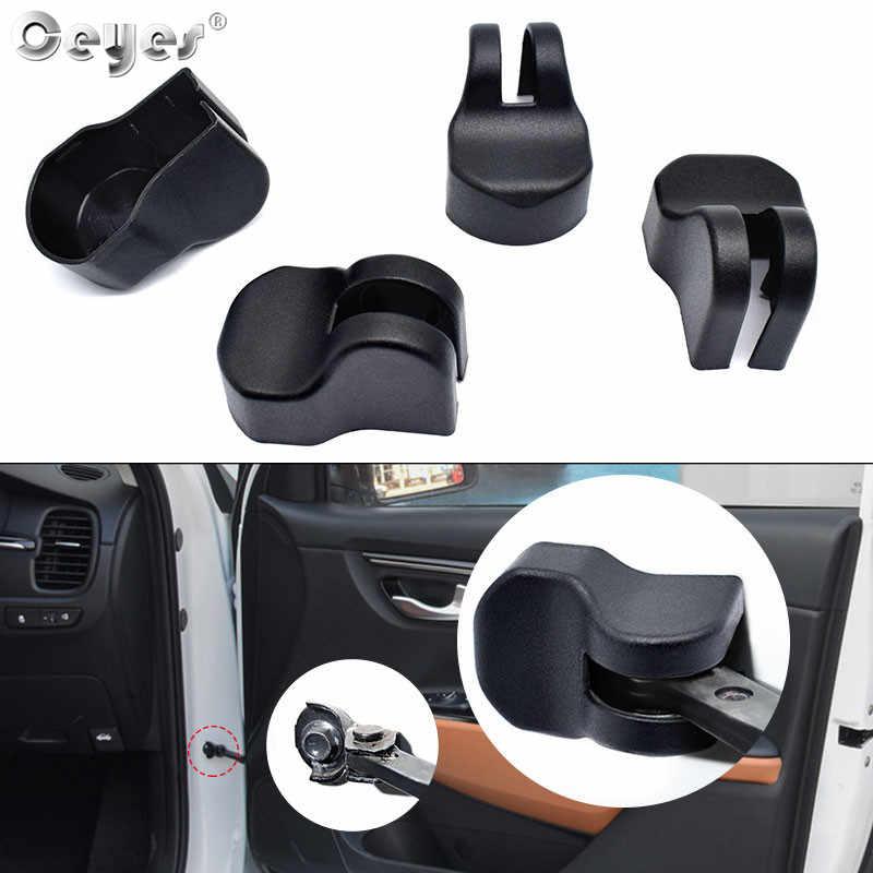 Küpler araba Styling koruyucu Sticker Fit için Kia Rio 4 Cerato Sportage Forte Sorento Soul ABS otomatik kapı kilidi stoper sınırlayıcı kapak