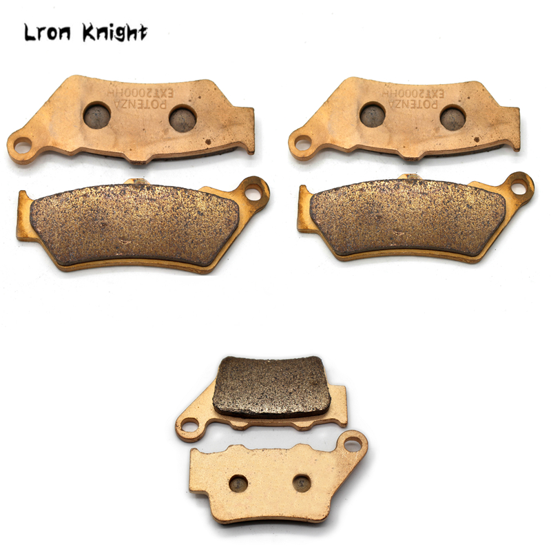 Motorcycle Front and Rear Brake Pads For BMW F650GS 2004 2012 F700GS 2013 2017 F800GS 2008