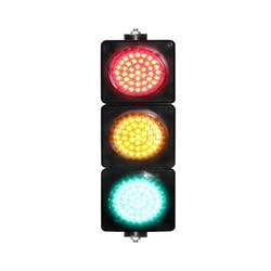 AC85-265V 100mm red yellow green light colored lens  mini traffic siganl light for sale