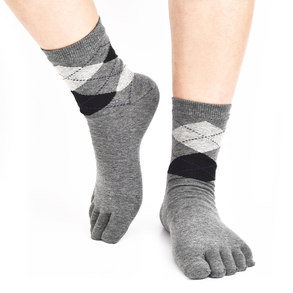 cotton casual business fashion toe socks brief design high end five finger socks