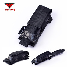 1000D Nylon Army Camo Tactical MOLLE Holster Cartridge Clip Bullet Tool Knife Belt Pouch Sheath
