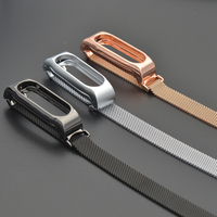 YUESHANG High Quality Stainless Steel Milanese Loop Magnetic Clasp Strap For Xiaomi MI Band 2 Wrist