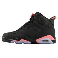 hot Retro basketball shoes 6 Men Shoe Black Infared Outdoor sport shoes New Arrival Hot sale