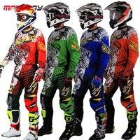 Thiết Kế mới Motocross Phù Hợp Với Chủng Tộc Men Big Kích Thước M 3XL 4XL màu xanh Màu Xanh Lá Cây Ktm Dirt Bike Off-road Quần Áo Atv Xe Máy Jersey Suit0