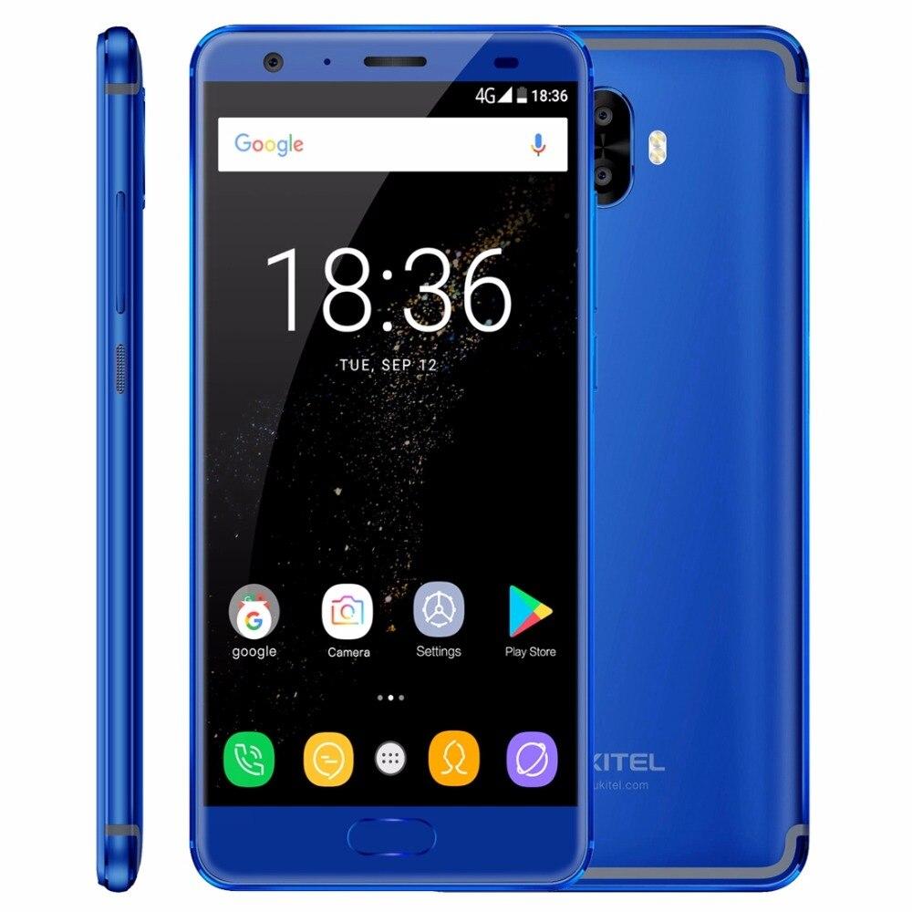 Oukitel K8000 5.5 Android 7.0 Mobile Phone MTK6750T Octa Core 1.5GHz 8000mAh Battery 4GB RAM 64GB ROM 13MP 4G Fingerprint OTG