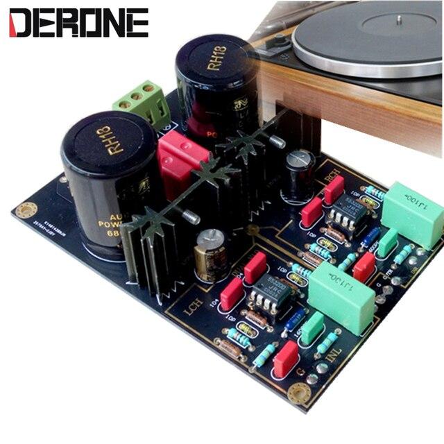 Phono במה כפולה פטיפון מעגל AirVinyl MM/MC מגבר HIFI amp ערכות/לוח