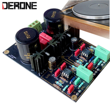 Phono Stage  DUAL turntable circuit AirVinyl MM/MC preamplifier HIFI amp kits/board