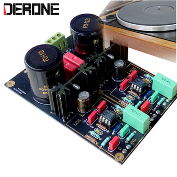 Phono Stage  DUAL turntable circuit AirVinyl MM/MC preamplifier HIFI amp kits/board - discount item  17% OFF Portable Audio & Video