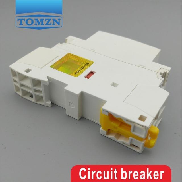 CT1 2P 25A 1NC 1NO 220V/230V 50/60HZ Din rail Household ac Modular contactor