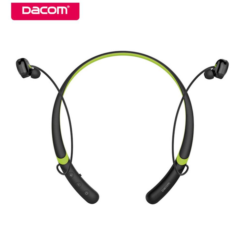 DACOM L02 Водонепроницаемый bluetooth гарнитуры бас наушники спортивные Беспроводной наушники гарнитура наушники с микрофоном для iPhone 6/7/ 8 Xiaomi
