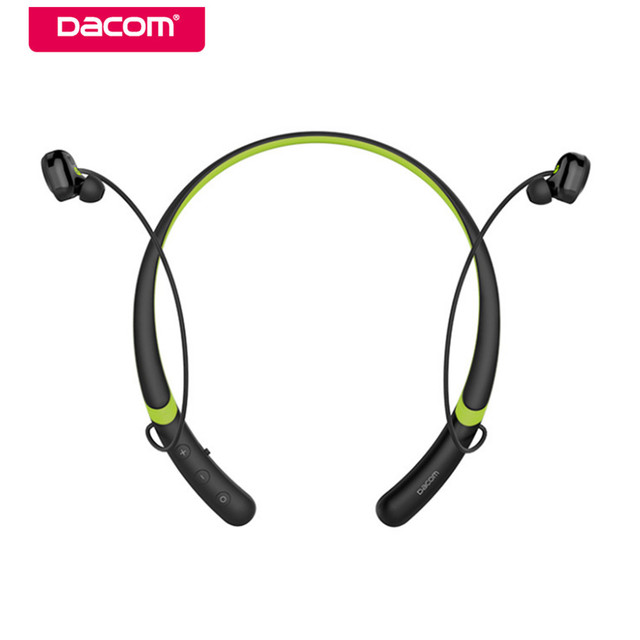 Dacom L02 Waterproof Bluetooth Headset Bass Earphone Sport Wireless Headphone Handsfree Earbuds with Mic for iPhone 6/7/8 Xiaomi