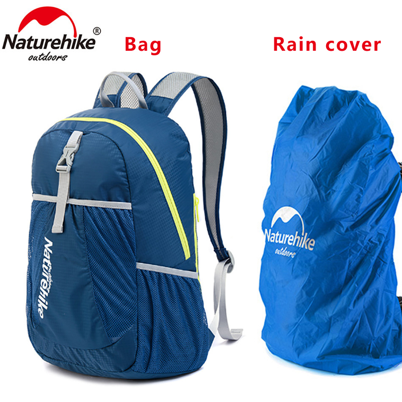 NEW NatureHike Backpack Sport Men Travel Backpack Women Backpack Ultralight Outdoor Leisure School Backpacks Bags 22L NH15A119-B