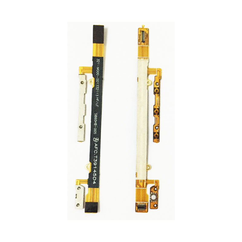 Power On Off Volume Up Down Button & Camera Switch Button Flex Cable For Sony Xperia C S39H S39C C2304 C2305