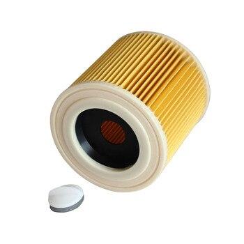 цена на Vacuum Cleaner HEPA Filter Cartridge Filter for Karcher A1000 K1000 A2004 A2204 A2504 VC6200 MV2 Vacuum Cleaner Parts