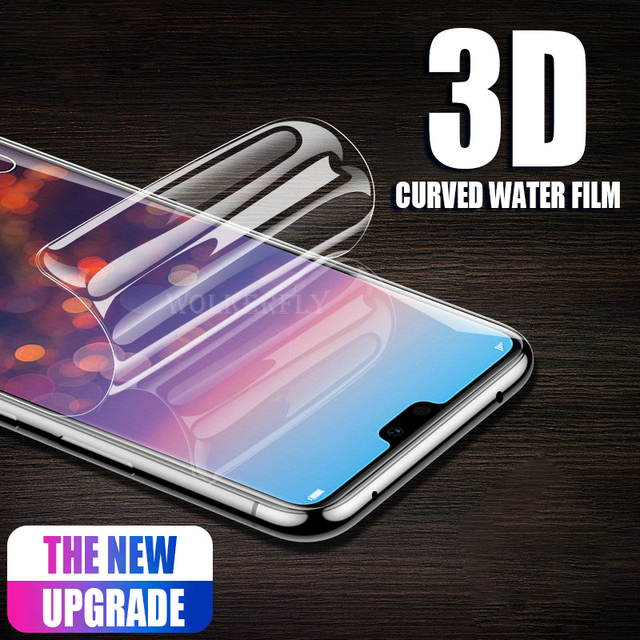 Hidrogel macia Película Protetora Para A Huawei P20 Pró Honra 9 Lite Nota 10 6X 7X 8X Nova 3 3i Completo protetor de Tela de cobertura (Não De Vidro)