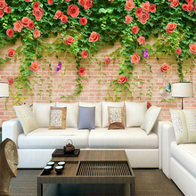 3D Country Style Moisture-Proof Eco-friendly  Wall paper For Wall Murals For Home Decors  TV Background Wall