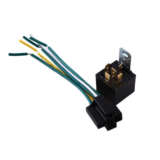 12v 30 40a universal automotive car amp style 5 pin 5 wire car relay rh aliexpress com