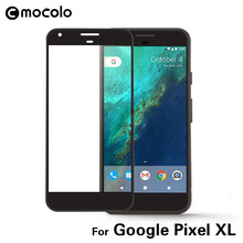Mocolo Full Cover Tempered Glass for Google Pixel XL 2.5D 9H Anti-Explosion Screen Protector Film Pixel XL glass 5.5 inch