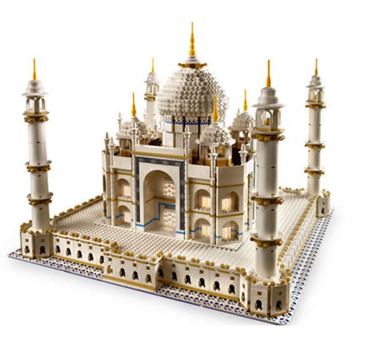 Large-scale world landmark The taj mahal Model Building Blocks Toys Gift for Children Bricks Compatible with 10189 Lepin new lepin 16009 1151pcs queen anne s revenge pirates of the caribbean building blocks set compatible legoed with 4195 children