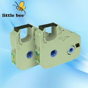 Image 2 - 10 pcs 잉크 리본 카세트 MK RS100B 100 m 3604b001 케이블 id 프린터 M 1 pro, M 1 std, M 1 proii