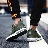 Air Cushion Mesh Breathable Men Women Running Shoes Army Green Sneakers Athletic GYM Trainers Zapatillas Chaussure Homme Sports